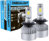 Лампа LED Omegalight Standart H1 2400lm